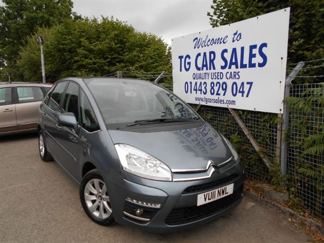 used Citroen C4 Picasso VTR+ HDI 5STR in blackwood-gwent