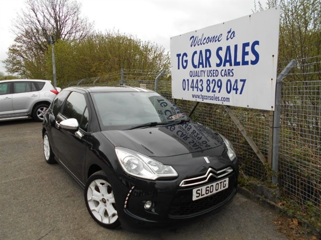 used Citroen DS3 HDI Black & White HDI 90 in blackwood-gwent