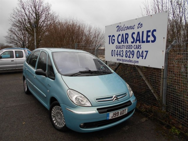 used Citroen Xsara Picasso Exclusive HDI in blackwood-gwent