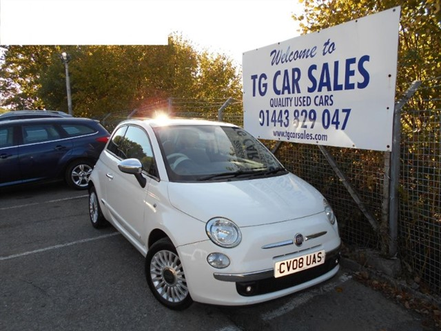 used Fiat 500 Lounge in blackwood-gwent
