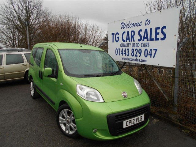 used Fiat Qubo Multijet Mylife Dualogic in blackwood-gwent