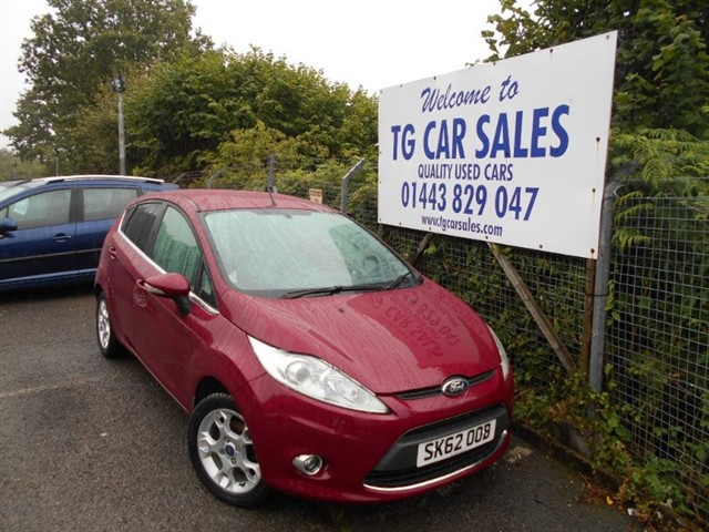 used Ford Fiesta Zetec TDCI 70 in blackwood-gwent