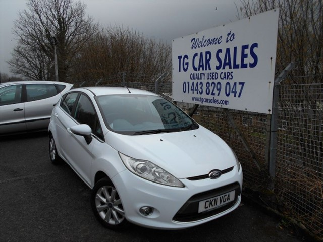used Ford Fiesta Zetec 16V in blackwood-gwent