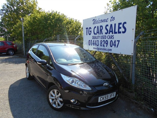 used Ford Fiesta Zetec in blackwood-gwent