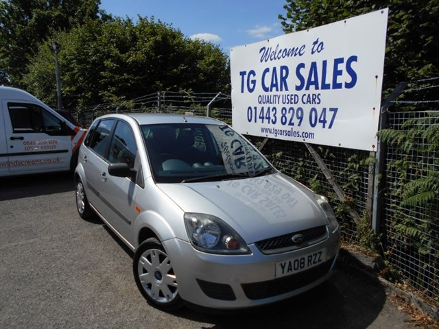 used Ford Fiesta Style 16V in blackwood-gwent