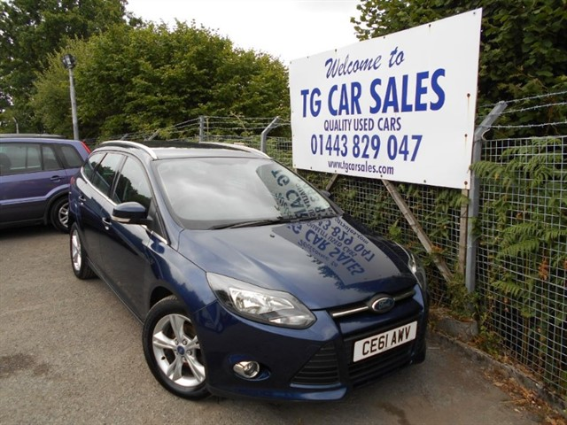 used Ford Focus Zetec TDCI in blackwood-gwent