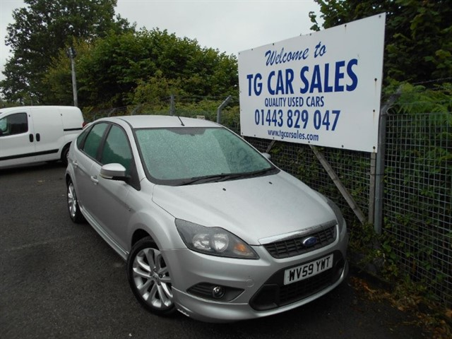 used Ford Focus Zetec S  in blackwood-gwent