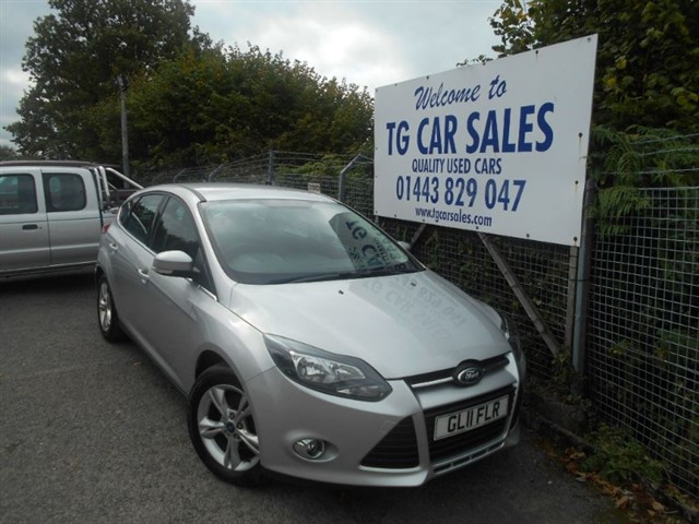 used Ford Focus Zetec 105 in blackwood-gwent