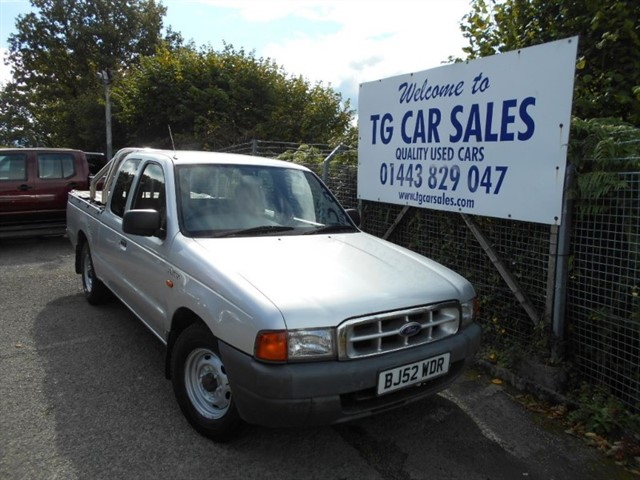 used Ford Ranger Super Cab 4X2 in blackwood-gwent
