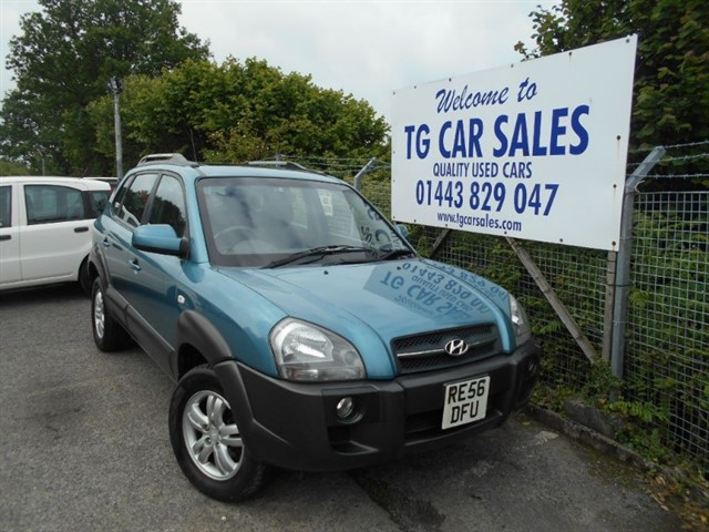 used Hyundai Tucson CDX CRTD 4WD in blackwood-gwent
