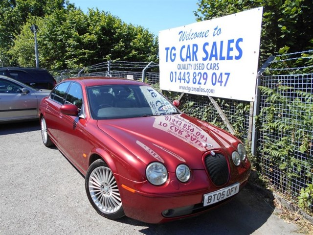 used Jaguar S-Type V6 Sport in blackwood-gwent