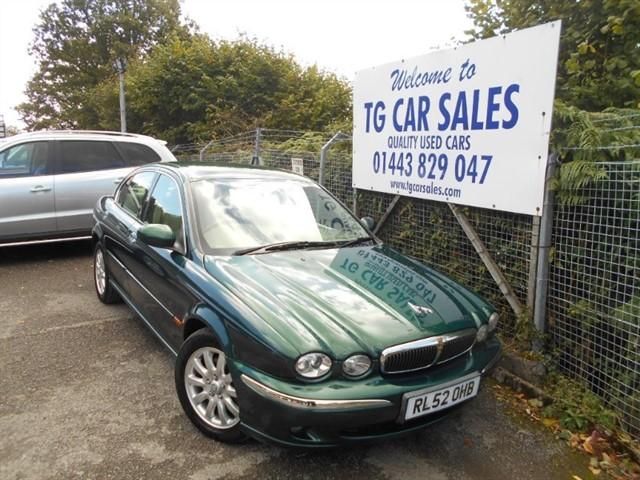 used Jaguar X-Type V6 SE in blackwood-gwent