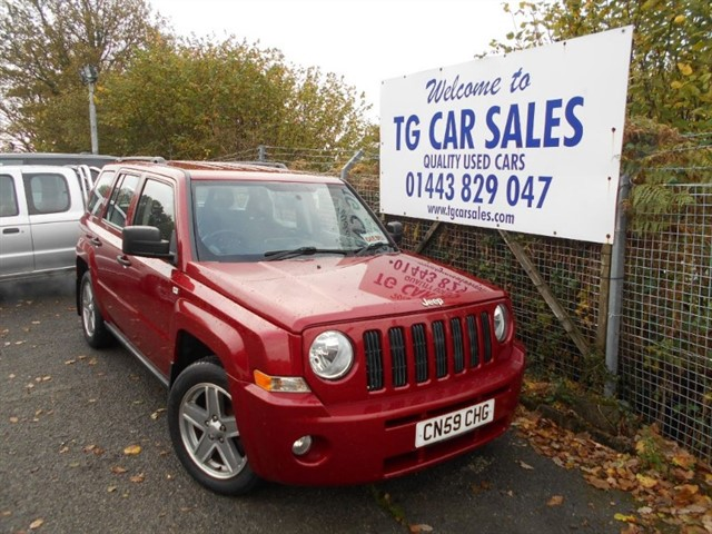used Jeep Patriot Sport CRD in blackwood-gwent