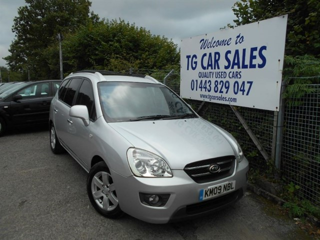 used Kia Carens LS CRDI in blackwood-gwent
