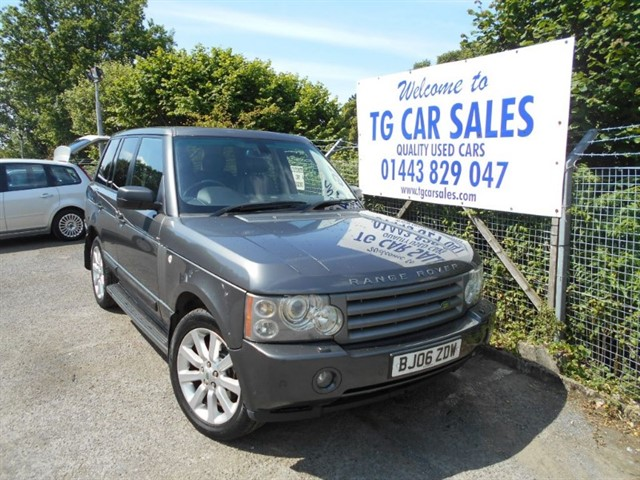 used Land Rover Range Rover TD6 Vogue SE in blackwood-gwent