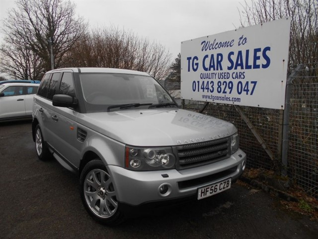 used Land Rover Range Rover Sport TDV6 HSE in blackwood-gwent