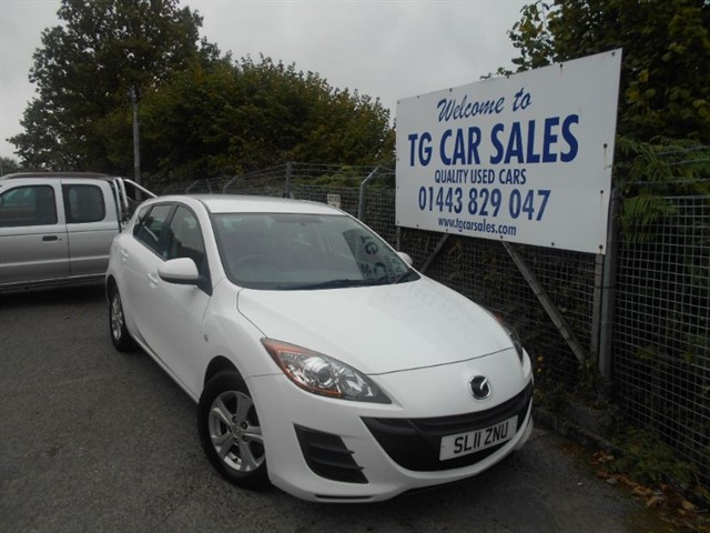 used Mazda Mazda3 TS D 115 in blackwood-gwent
