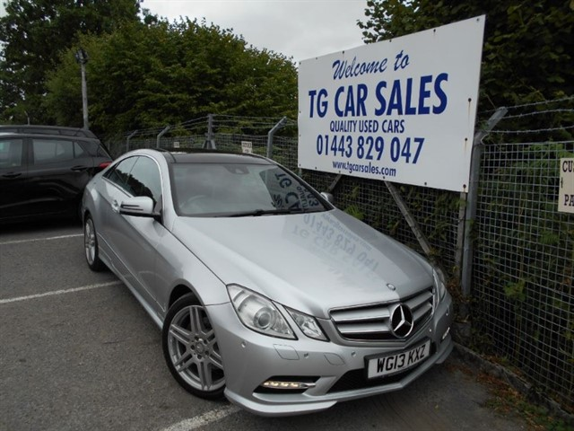 used Mercedes E220 CDI BlueEfficiency Sport in blackwood-gwent