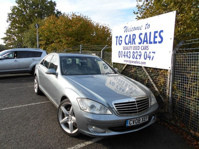 used Mercedes S320 CDI in blackwood-gwent