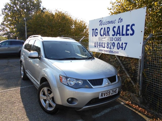 used Mitsubishi Outlander GSE DI-D in blackwood-gwent