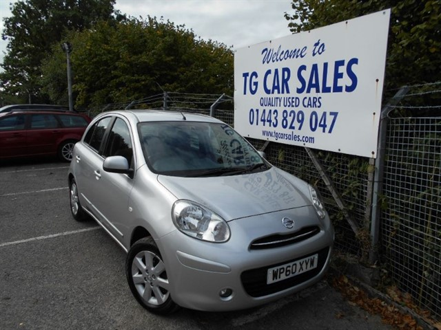 used Nissan Micra Acenta in blackwood-gwent