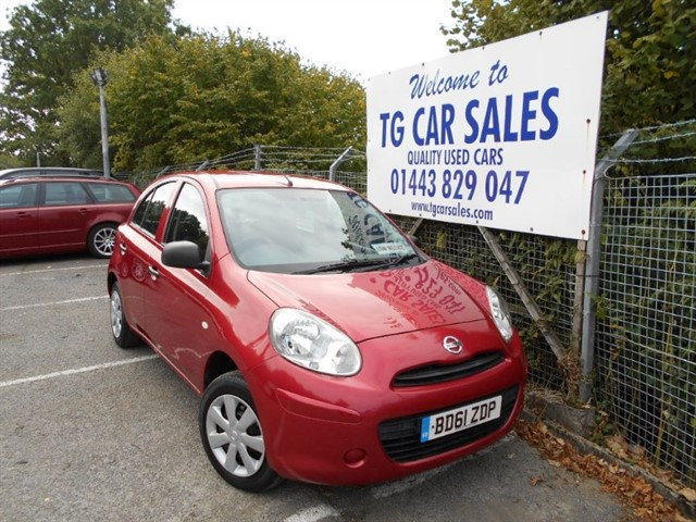 used Nissan Micra Visia in blackwood-gwent
