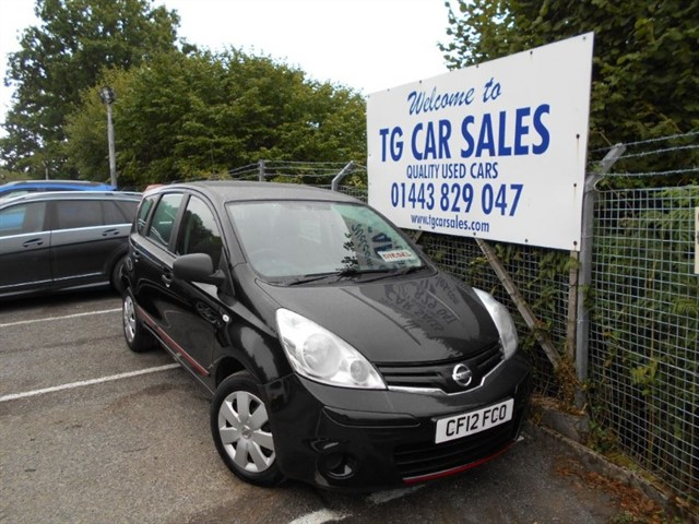 used Nissan Note  in blackwood-gwent