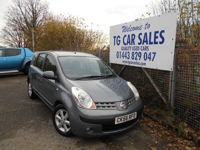 used Nissan Note SE in blackwood-gwent