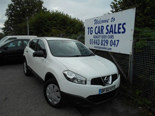 used Nissan Qashqai Visia Pure Drive DCI in blackwood-gwent