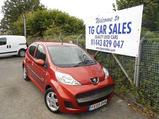 used Peugeot 107 Verve in blackwood-gwent
