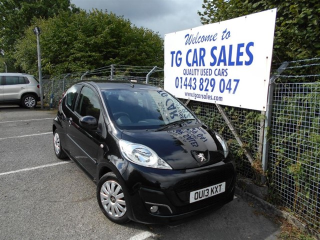 used Peugeot 107 Active in blackwood-gwent