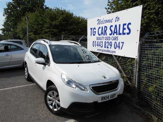 used Peugeot 2008 Access Plus in blackwood-gwent