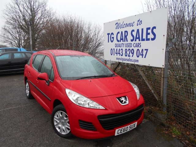 used Peugeot 207 HDI SW S in blackwood-gwent