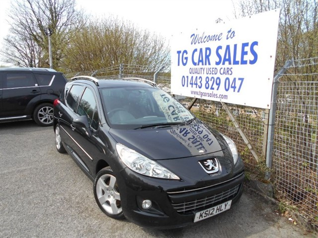 used Peugeot 207 HDI SW Allure 92 in blackwood-gwent