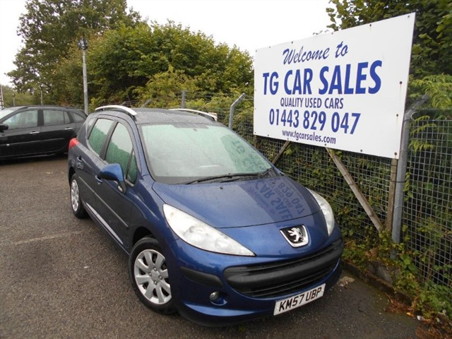used Peugeot 207 SW S in blackwood-gwent