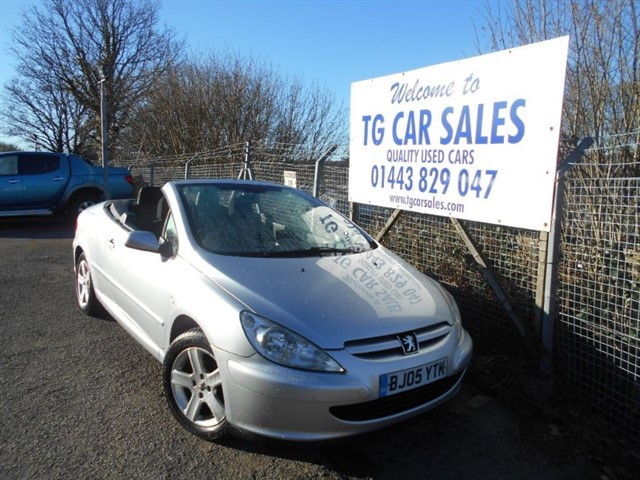 used Peugeot 307 Coupe Cabriolet in blackwood-gwent