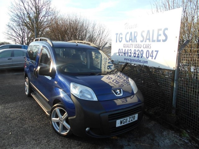 used Peugeot Bipper HDI Tepee Outdoor in blackwood-gwent