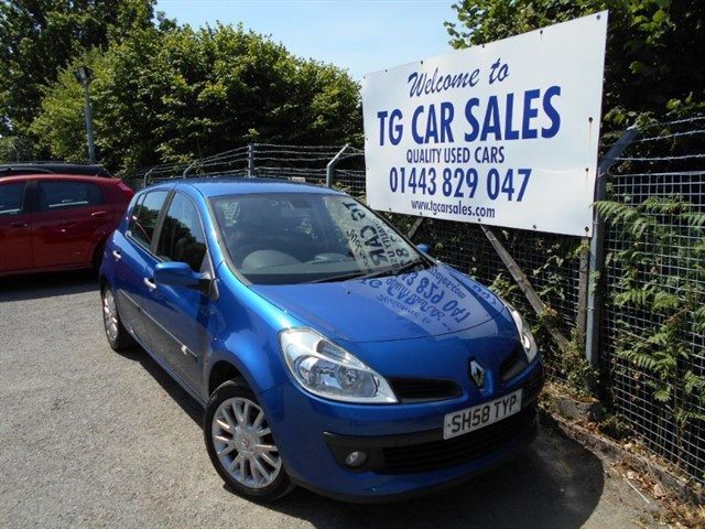 used Renault Clio Dynamique DCI 86 in blackwood-gwent
