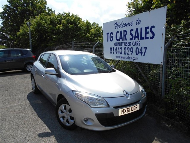 used Renault Megane Expression VVT 110 in blackwood-gwent