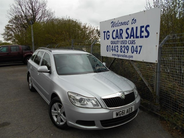 used Skoda Octavia SE TDI CR in blackwood-gwent