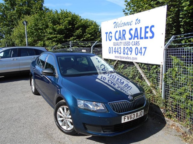 used Skoda Octavia S TDI CR 140 in blackwood-gwent