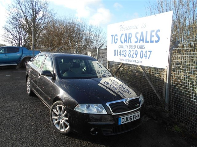 used Skoda Octavia VRS in blackwood-gwent