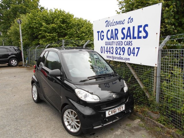 used Smart Car Fortwo Cabrio Passion MHD in blackwood-gwent