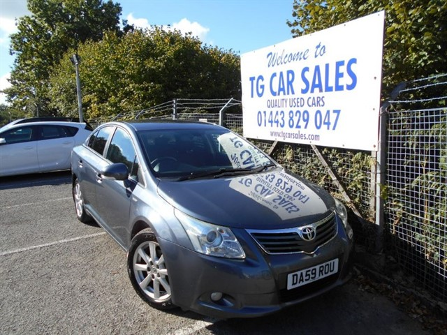used Toyota Avensis TR D-4D in blackwood-gwent