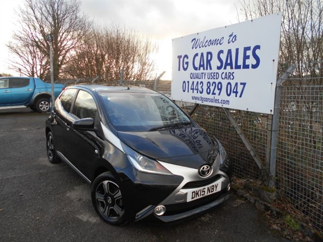 used Toyota Aygo VVT-I X-CLUSIV in blackwood-gwent