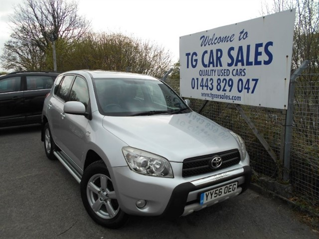 used Toyota RAV4 XT4 D-4D in blackwood-gwent