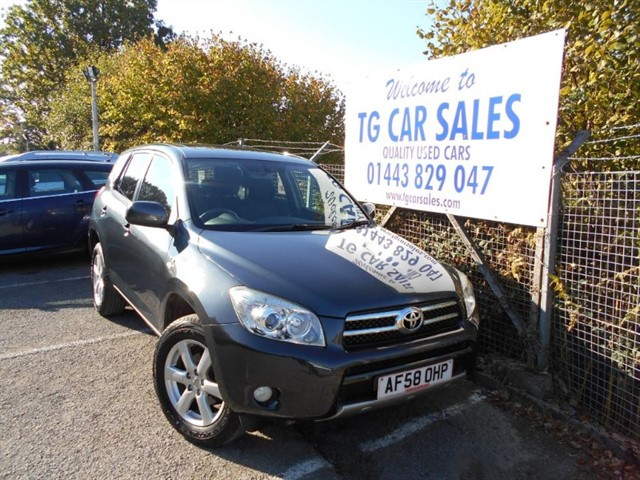 used Toyota RAV4 XT-R D-4D in blackwood-gwent