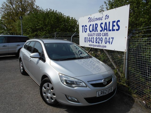used Vauxhall Astra Exclusiv CDTI  in blackwood-gwent