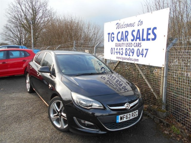 used Vauxhall Astra SRI CDTI Ecoflex S/S in blackwood-gwent