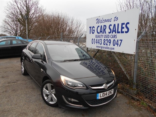 used Vauxhall Astra SRI in blackwood-gwent